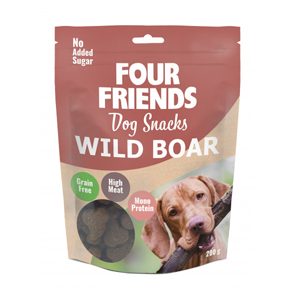 Four Friends Dog Snack Wild Boar
