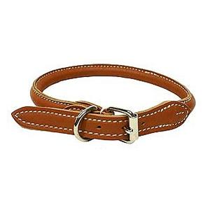 Halsband Mjukt Rundsytt - Äkta läder