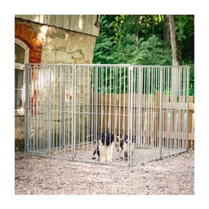 Hundgård sektion med dörr 1,2 m, gallergrind