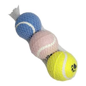 Tennisbollar för hundar - 3-pack