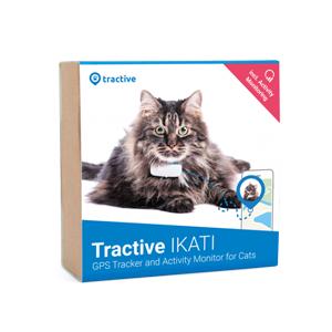 Tractive IKATI GPS-tracker Katthalsband